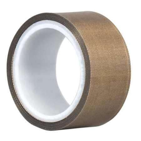 FDA, SGS LFGB approved long using life 0.08mm*1m*30m brown ptfe jumbo roll with adhesive