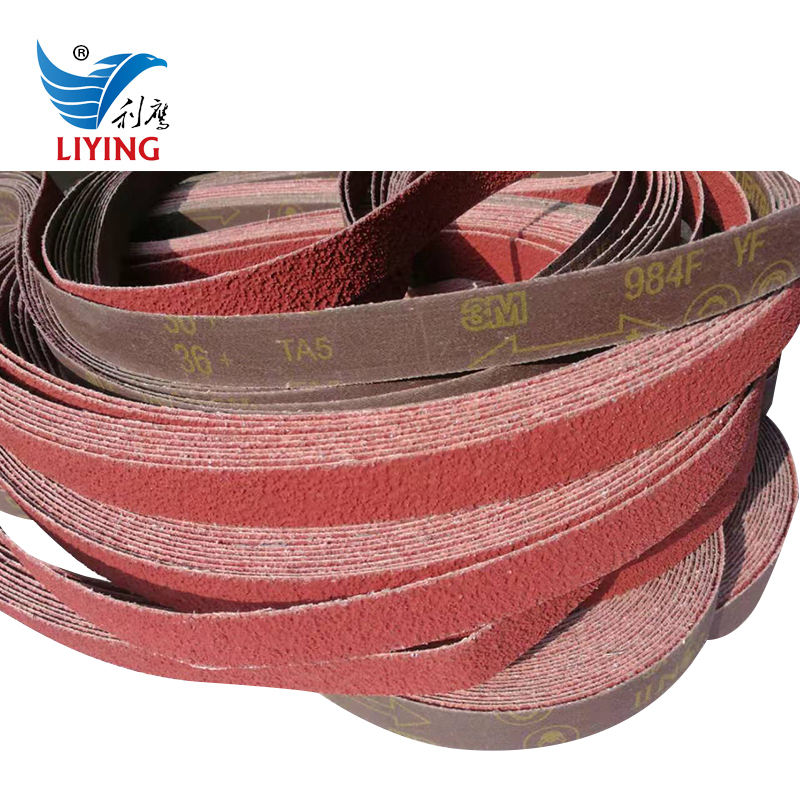 "3 Belts Per Pack 2/"" x 72/"" VSM  XK870  Ceramic Sanding Belts P40 Grit"