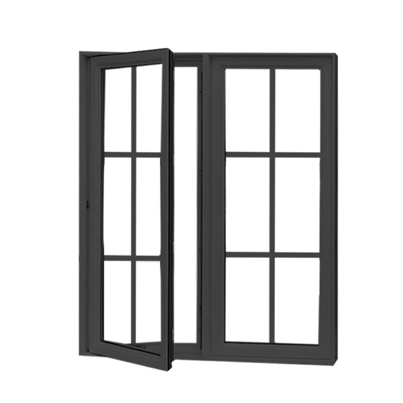 New arrival cheap aluminum casement energy saving french window