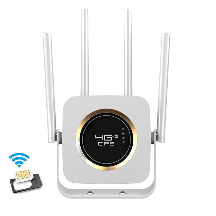 Unlocked 300Mbps Wifi 4G Wireless RouterS CPE Router Mobile Wifi Hotspotfor Standard SIMカードSupports Wired Mode Wireless Mode