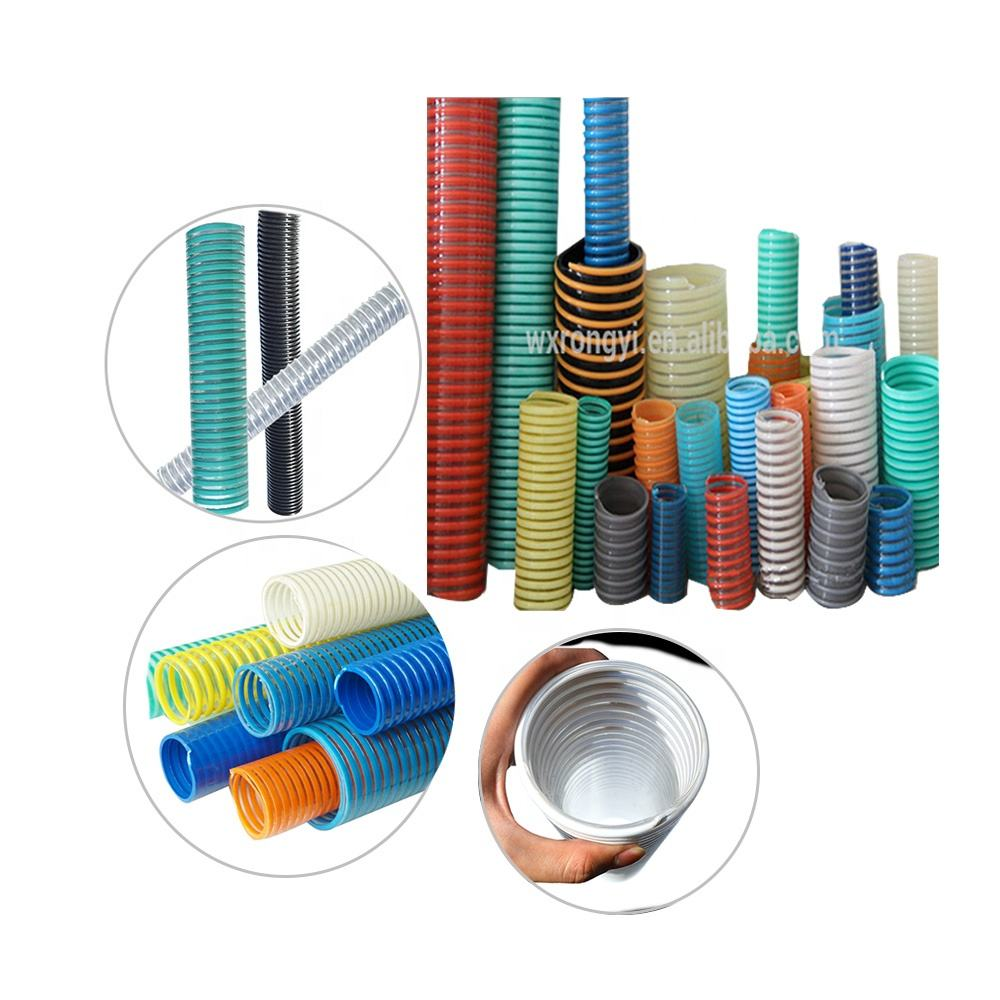Hose factory plastic pvc corrugated vacuum 2 inch 6 inch 8 inch flexible drain suction hose