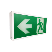 Evacuation Light New Battery Powered Led Emergency Arab Safety Exit Sign