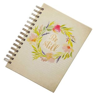 Factory direct gift Journal custom logo foil stamping filler paper notebook