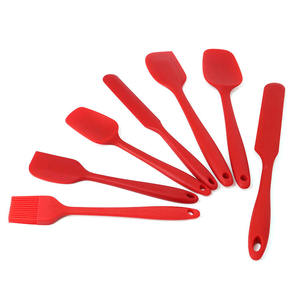 En gros Ensemble De Spatule En Silicone 6 Pack Scarper Spatule Ensemble D'ustensiles de Cuisine En Silicone À Vendre