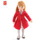 Kruselings Chloe English Rose 9 Inch Fashion Movable Joints PVC Dolls For Kids Girl Vinyl Baby