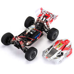 Wltoys 144001 1/14 2.4G 4WD High Speed Buggy Racing RC Car Vehicle Models 60km/h Metal Chassis