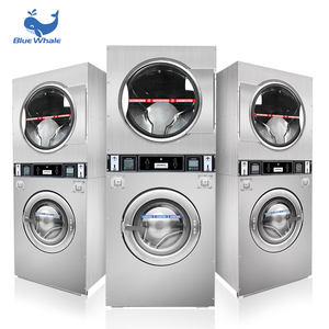 Brand New Fully Automatic Washer And Dryer Washing Machine Coin Operated Commercial Laundry