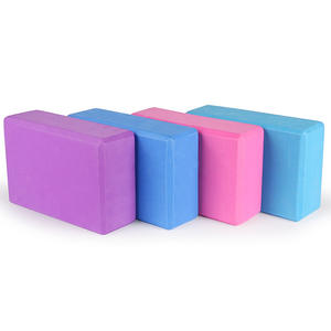 Recycled Physical therapy half round high density EVA foam yoga block
