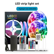 LED Strip Lights 300 Leds 16.4 Ft with Remote Color Changing LED Strip Light Kit for Room, Kitchen, Bedroom Decoration