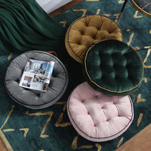 Custom Large Outdoor Seat Round Floor Pillow Velvet Round Tatami Cushion For Chair Pad Yoga Home