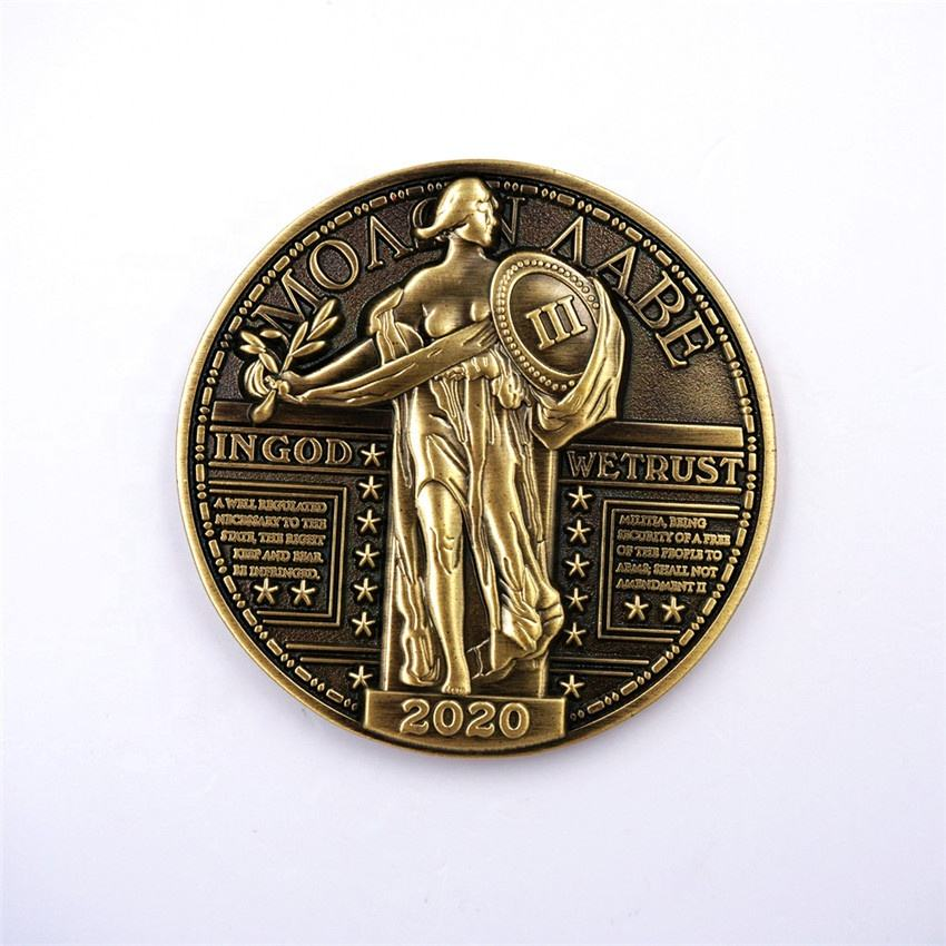 Professional Coin Manufacturer Custom Large Engraved Coins