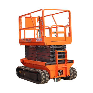 Customized Self-propelled Hydraulic Scissor Lift Platform With Rubber Track