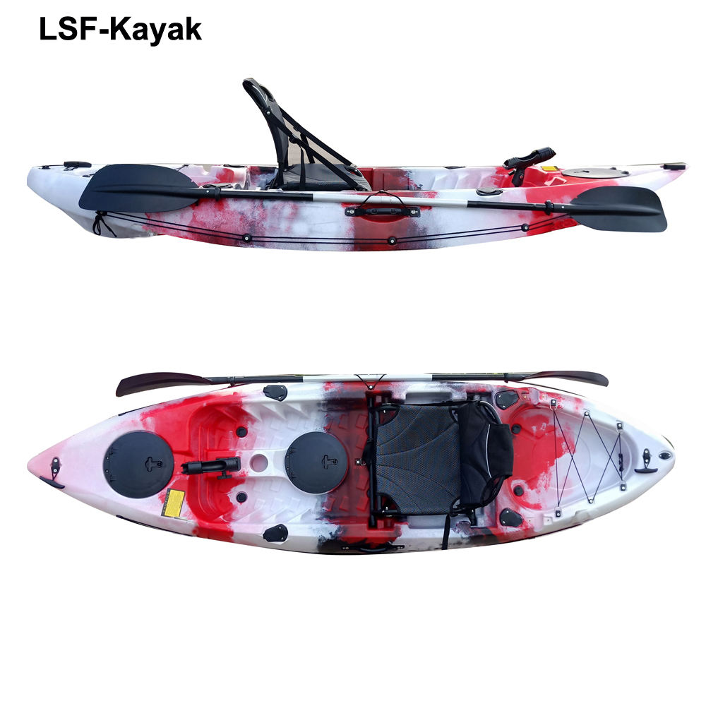 Factory price 9ft single seat kayak for sale,kayak with cheap price