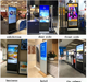 Screen Advertising Advertising Screens 43 Inch Finger Touch Remote Release Floor Standing Lcd Digital Signage Touch Screen Display Advertising Player