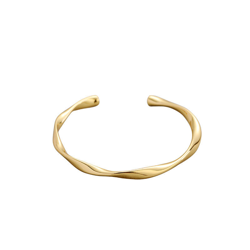 Eico Niche original design gilt art 18K gold-covered bracelet ins minimalist cold wind and temperament bracelet jewelry