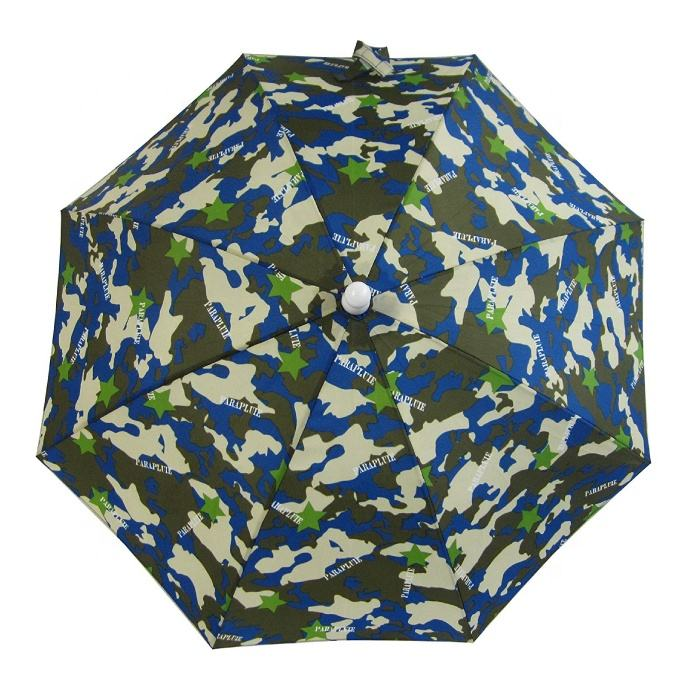 Camouflage design that does not pinch fingers when opening and closing Manual umbrella for children | made to order