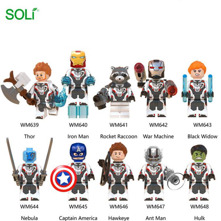Super Héroes capitán <span class=keywords><strong>Marvel</strong></span> <span class=keywords><strong>juguetes</strong></span> figuras de acción mini bloques de construcción de <span class=keywords><strong>Juguetes</strong></span>