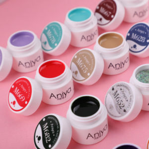 Aniya New Generation M Series 8g Nail Art Design for Painting Pigment UV Gel Nail Gel Paint