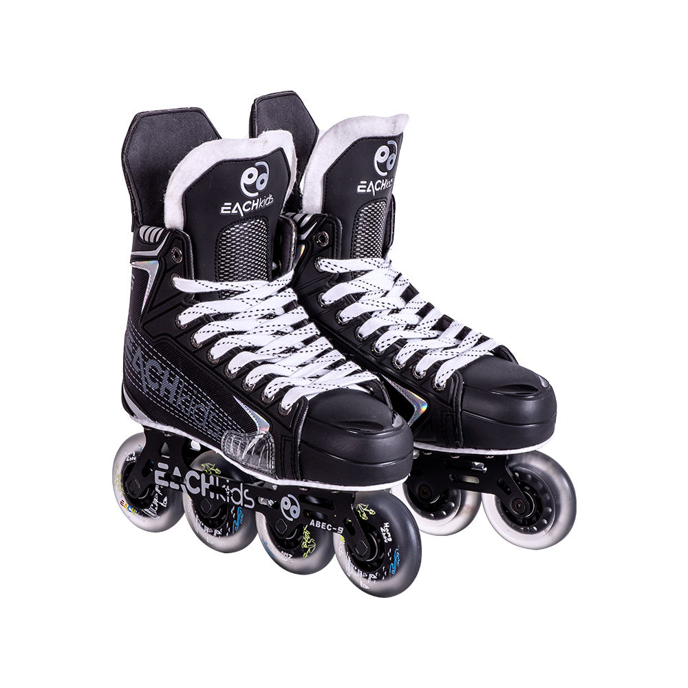 New design customer speed roller skate shoes adjustable racing inline skate