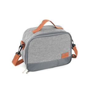 600D Oxford 5Mm Foam School Office Travel Gebruik Lunchbox Custom Logo Koeler Thermische Geïsoleerde Lunch Tas