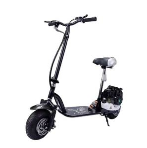 Hot selling product 49cc fat tire fast folding gas scooter