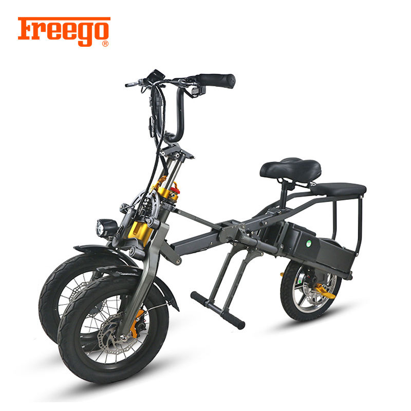 2019 News EM-14K Adults 3-wheel folding electric scooter