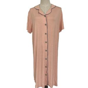New arrive women sleepwear pajama,ladies long nightgown,custom sleepwear pajamas