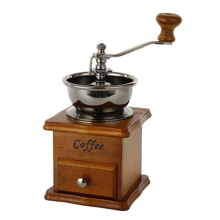 Vintage Wooden Coffee Grinders Manual Coffee Mills Stocked