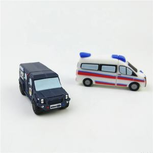 Cartoon Car model USB Memory Stick Flash pen Drive
