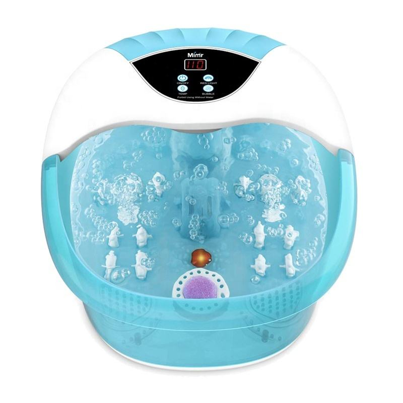 Electric Pedicure Detox Ionic Shiatsu Washing Soak Ion Hydrosana Basin Foot Spa Bath Massager