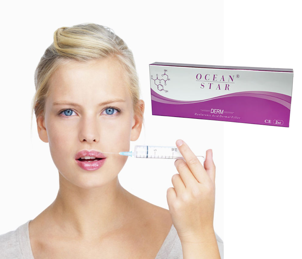 New product launch in 2020 selling at factory price cross linked filler hyaluronic acid 1ml