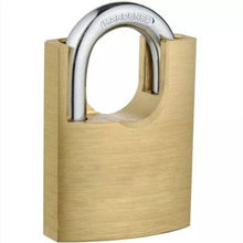 OEM high quality hardened shackle protect wrapped solid copper brass padlock