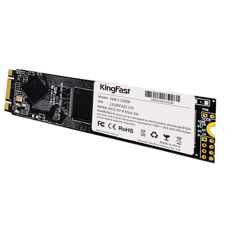 F6M. 2 2280 NGFF 128GB m.2 ssd voor laptop