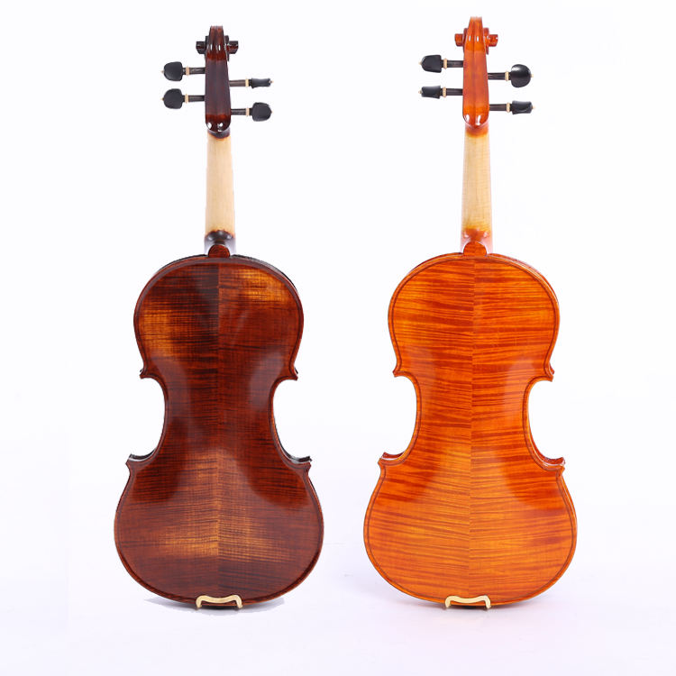 High quality hand made violin solo adult violin flame maple violin
