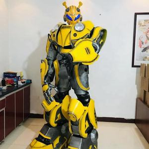 Good Quality Realistic Adult Size Human Cosplay Robot Costume For Eventy Party