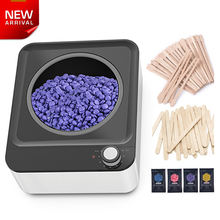 Wax beans beads melter heater warmer kit machine body hair removal wax set of wax stick for hair