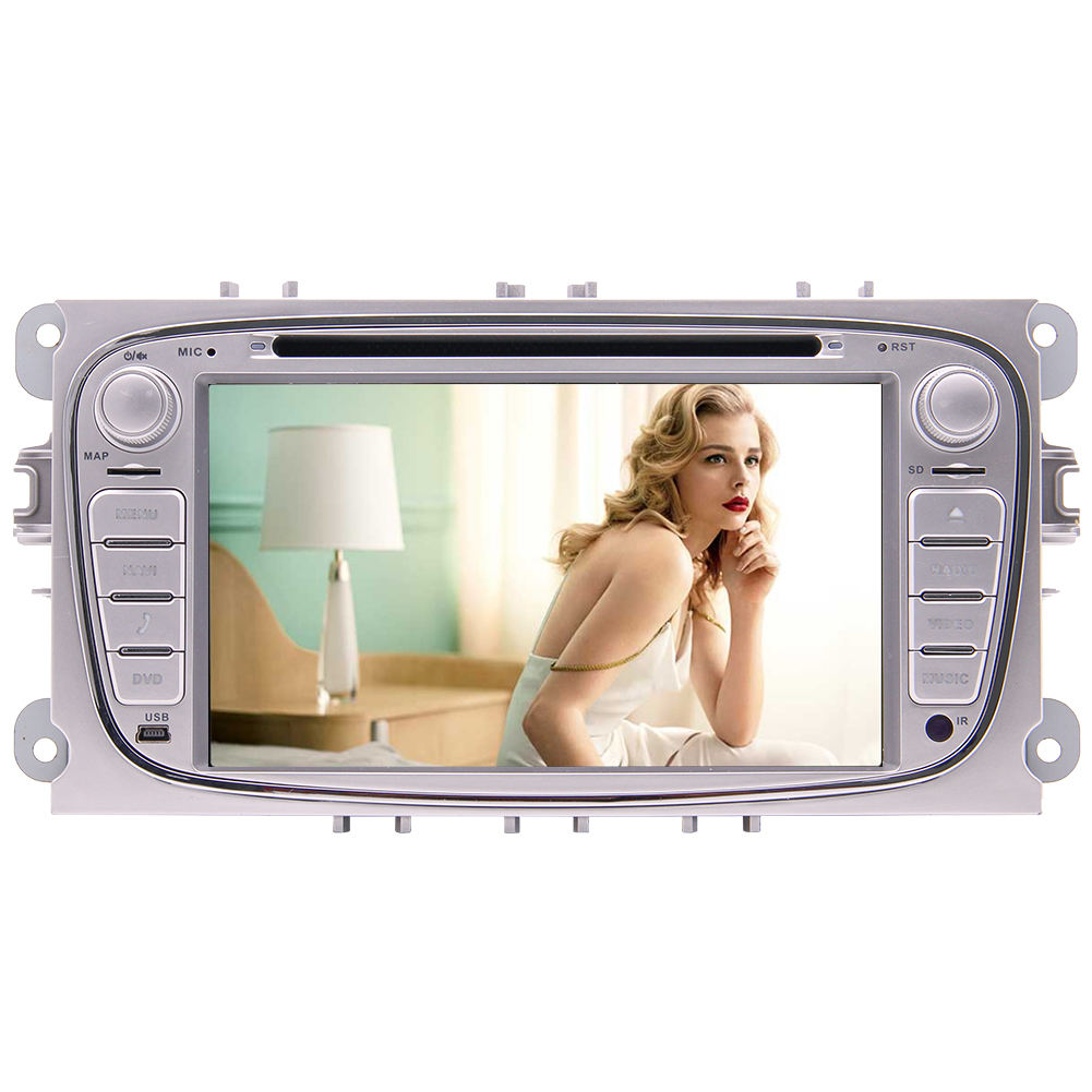 Doppel 2 din autoradio Quad core auto radio stereo geeignet für ford focus s max Mondeo Tourneo multimedia GPS Auto <span class=keywords><strong>DVD</strong></span> Player