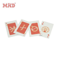 Customized Plastic PVC 777 RFID Playing Card Printing