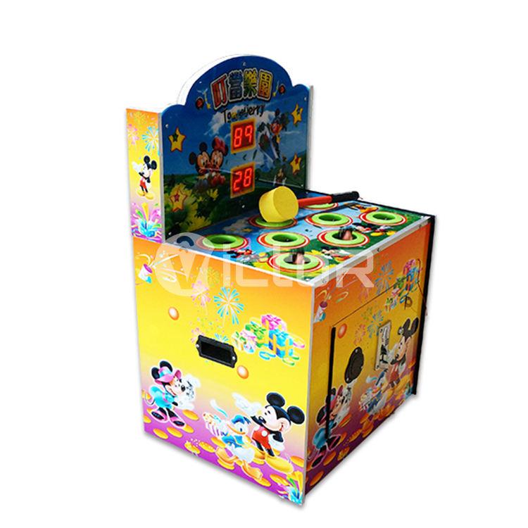 парк развлечений с управлением с помощью монетного мышь аркады игровой автомат крота удара Молот дети аркадных игровых автоматов