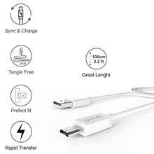 U-Globe USB Data Cable, Data Transfer Cable, Sync Cable  with 1 Meter Long
