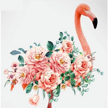 Shenzhen 5d DIY diamant dot schilderij kits <span class=keywords><strong>Flamingo</strong></span> voor canve print wall art