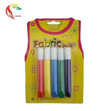 Wholesale Fast Drying 5 Colors Fabric Paint For Kids