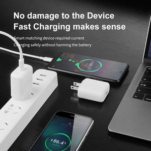 New Arrival 9V 2.22A 20W USB Power Adapter Fast Charging Cube Charger 20W PD Fast Type C Wall Charger for iPhone 12 Mini Pro Max