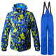 high quality breathable man ski jacket and pant men's one set of ski suit