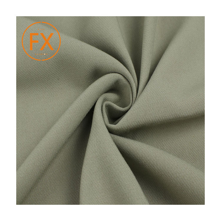 Custom cheap price polyester spandex fabric manufacturer rayon fabric for garments