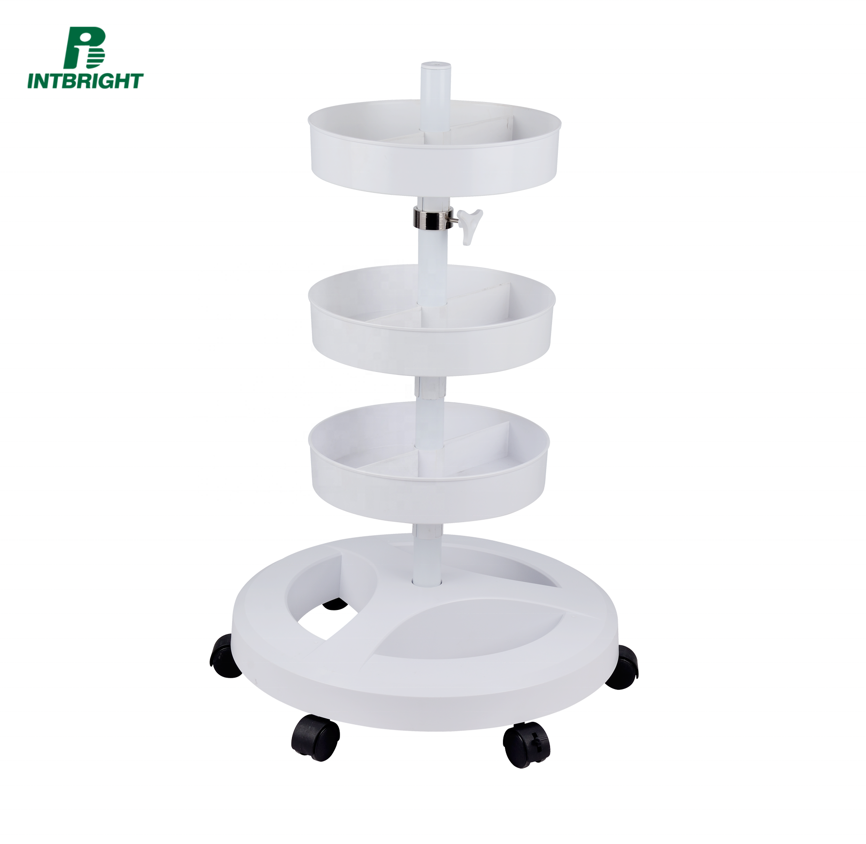 Cosmetic accessories hottest picture beauty salon tray trolley stand for magnifiers lamp base parts furniture cosmetology