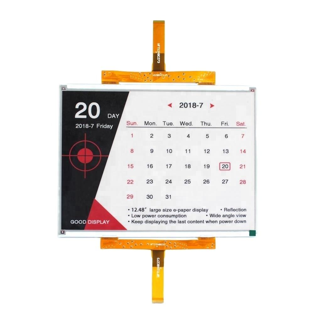 large e ink display 12.48inch colorful epaper with development kit
