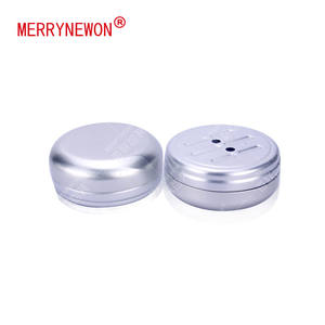 100g/ml scented aluminum metal beer can seamer 100ml cosmetic jar soap tin box with open hole