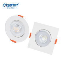 OTESHEN New 5G super slim led spotlight  5W plastic  downlight led ceiling 100-240V 100lm/w, adjustable, easy assembling