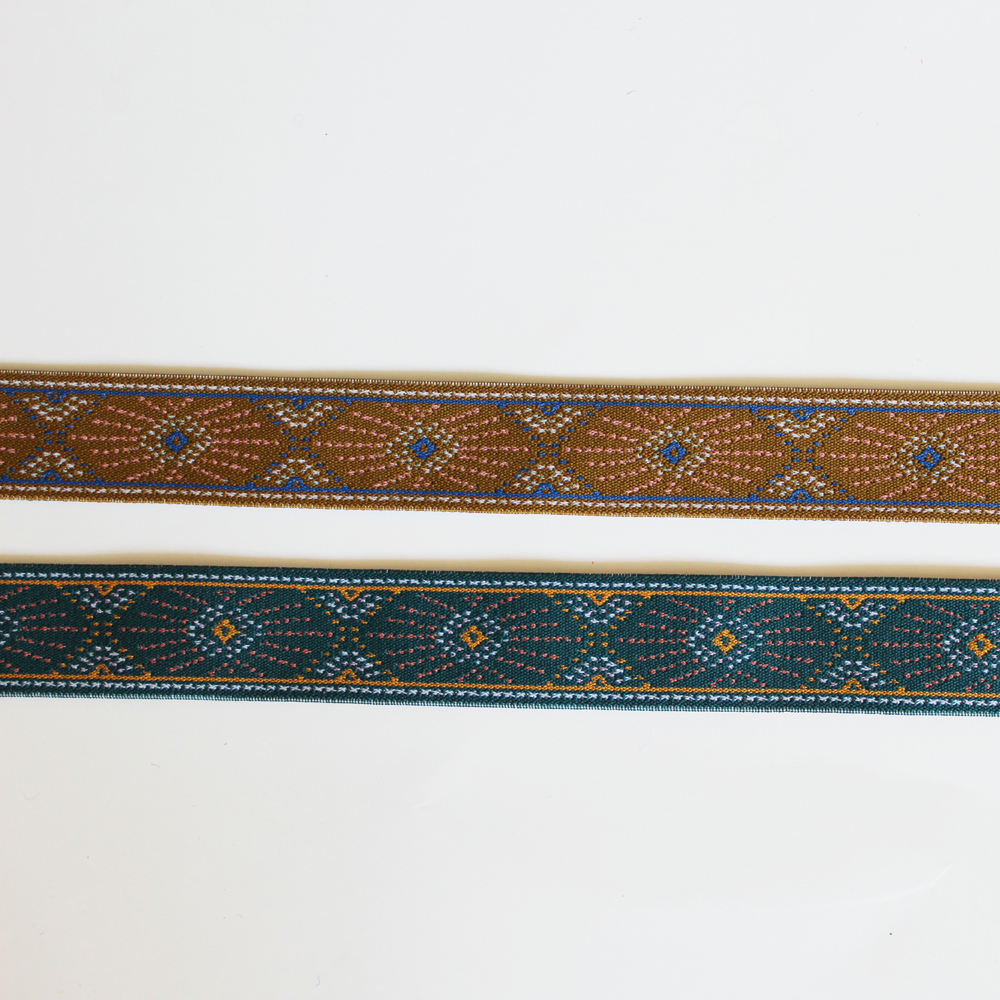 jacquard elastic band fancy design webbing